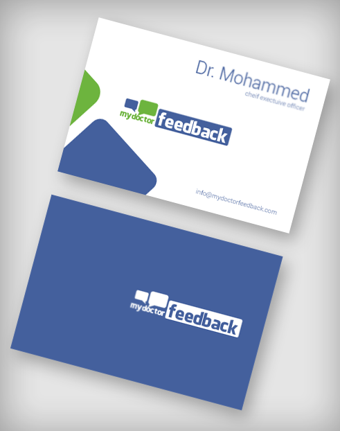 my doctor feedback business card ubi portfolio - Doctor Business Card